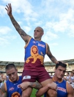 AFL 2014 Rd 22 - Brisbane v Fremantle