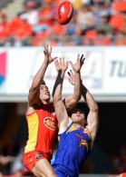 AFL 2014 Rd 23 - Gold Coast v West Coast