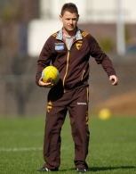 AFL 2014 Training - Hawthorn 040914