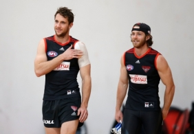 AFL 2014 Training - Essendon 050914