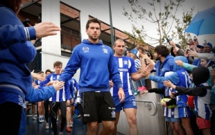 AFL 2014 Training - North Melbourne 180914