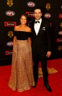 AFL 2014 Media - Brownlow Medal Red Carpet Arrivals
