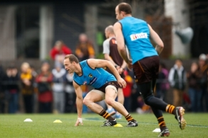 AFL 2014 Training - Hawthorn 250914