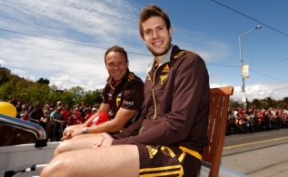 AFL 2014 Media - Toyota AFL Grand Final Parade