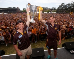 AFL 2014 Media - Hawthorn Family Day