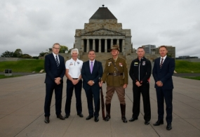 AFL 2015 Media - St Kilda and Carlton ANZAC Day Press Conference
