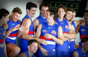 AFL 2015 Media - Western Bulldogs Team Photo Day