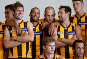 AFL 2015 Media - Hawthorn Team Photo Day