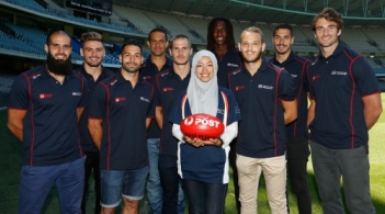 AFL 2015 Media - Multicultural Ambassador Press Call 220115