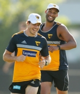 AFL 2015 Training - Hawthorn 230115