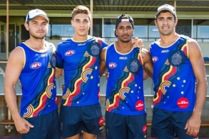AFL 2015 Media - All Stars Clinc and Training