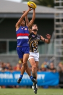 AFL 2015 NAB Challenge - Western Bulldogs v Richmond