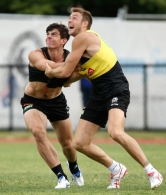AFL 2015 Training - Collingwood 040315