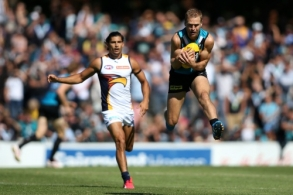 AFL 2015 NAB Challenge - Port Adelaide v West Coast