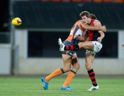 AFL 2015 NAB Challenge - GWS Giants v Essendon