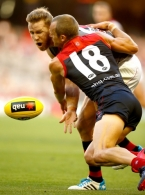 AFL 2015 NAB Challenge - Melbourne v Essendon