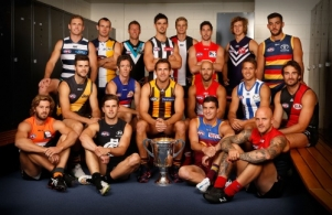 AFL 2015 Portraits - AFL Captains