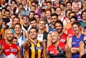 AFL 2015 Media - Captains Day