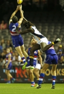 AFL 2015 Rd 01 - Western Bulldogs v West Coast