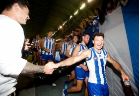 AFL 2015 Rd 02 - North Melbourne v Brisbane