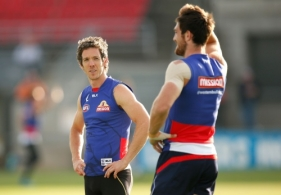 AFL 2015 Training - Western Bulldogs 140415