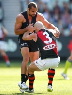 AFL 2015 Rd 03 - Carlton v Essendon