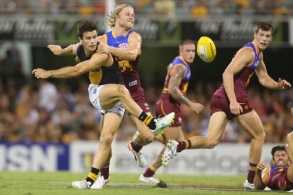 AFL 2015 Rd 03 - Brisbane v Richmond