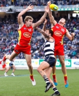 AFL 2015 Rd 03 - Geelong v Gold Coast