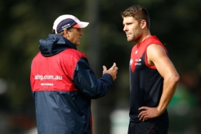 AFL 2015 Training - Melbourne 280415