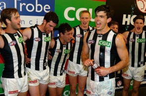 AFL 2015 Rd 05 - Carlton v Collingwood