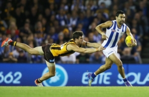 AFL 2015 Rd 05 - North Melbourne v Hawthorn
