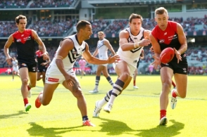 AFL 2015 Rd 05 - Melbourne v Fremantle