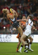 AFL 2015 Rd 06 - GWS Giants v Hawthorn
