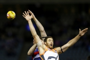AFL 2015 Rd 09 - Western Bulldogs v GWS Giants