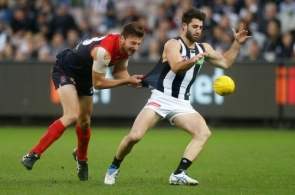 AFL 2015 Rd 10 - Melbourne v Collingwood