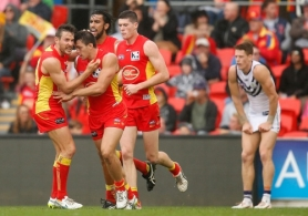 AFL 2015 Rd 11 - Gold Coast v Fremantle