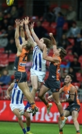 AFL 2015 Rd 12 - GWS Giants v North Melbourne