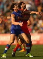 AFL 2015 Rd 15 - Western Bulldogs v Gold Coast