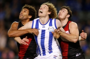AFL 2015 Rd 16 - North Melbourne v Essendon