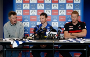 AFL 2015 Media - '400 Club' Press Conference