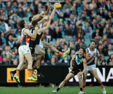 AFL 2015 Rd 20 - Port Adelaide v GWS Giants