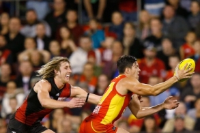 AFL 2015 Rd 21 - Gold Coast v Essendon