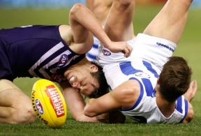 AFL 2015 Rd 21 - North Melbourne v Fremantle