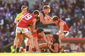 AFL 2015 Rd 22 - Fremantle v Melbourne