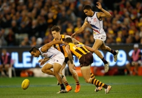 AFL 2015 Second Semi Final - Hawthorn v Adelaide