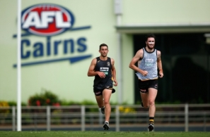 AFL 2015 Training - Tigers in Palm Cove