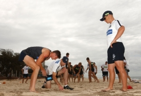 AFL 2015 Training - Blues on the Gold Coast
