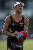 AFL 2016 Training - Hawthorn 130116