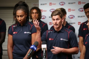 AFL 2016 Media - Multicultural Ambassadors Announcement