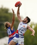 AFL 2016 Training - Western Bulldogs Intra-Club Match